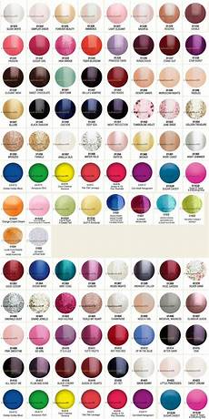 Color Gels Color Chart Gelish Color Chart 90 Colors Too Bad Not Every Salon Has