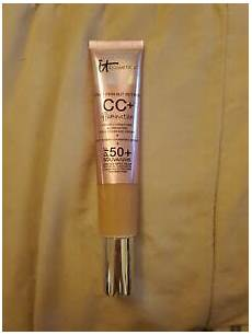 It Cosmetics Supersize Cc Illumination Light 2 53 Fl Oz It Cosmetics Cc Cream Medium Spf 50 Illumination Super