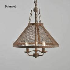 Metal Cone Pendant Light Industrial Loft Metal Mesh Cone Shade Farmhouse Suspended