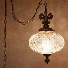 How To Hang A Pendant Light From Ceiling Vintage Hanging Light Hanging Lamp Glass Globe Chain