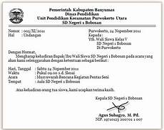 contoh surat undangan resmi untuk kepala sekolah dalam