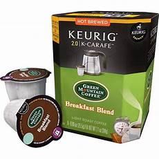 Green Mountain Breakfast Blend Light Roast Caffeine Green Mountain Breakfast Blend Coffee K Carafe Set Of 8