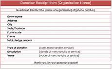 donation receipt template for mac 12 free sles of donation receipt template donation