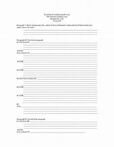 Schaffer Essay Format 15 Best Images Of Teacher Worksheets For Students
