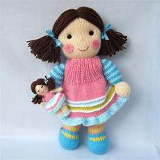 maisie and doll knitted dolls knitting
