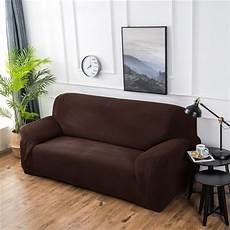 thicken knitted sofa cover elastic solid color sofa