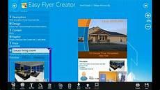 Free Printable Flyer Creator Easy Flyer Creator 4 1 Windows Store App Youtube