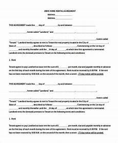 Free Rental Template 14 Blank Rental Agreement Free Amp Premium Templates