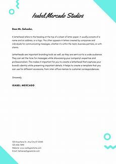 Examples Of Personal Letterhead Customize 80 Personal Letterhead Templates Online Canva