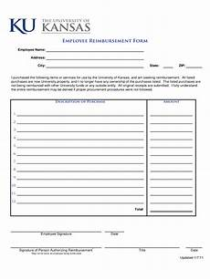 Employee Expenses Claim Form Template Employee Expense Reimbursement Form 3 Free Templates In
