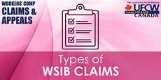 Wsib Claim Type Chart Types Of Wsib Claims Ufcw Canada Local Union 175 Amp 633
