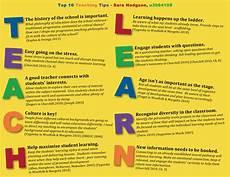 education tips teaching tips poster hodgsons1