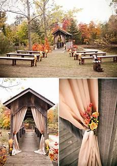 5 fabulous fall outdoor wedding ideas