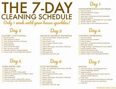Cleaning House Schedule Chart Free Printable Weekly House Cleaning Schedule Viva Veltoro