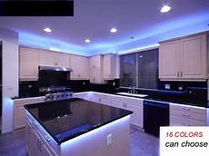 kitchen glowunder cabinet rgb led light 16ft smd
