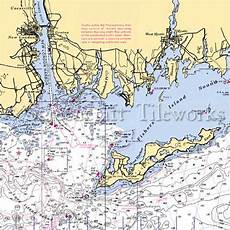 Fishers Island Sound Nautical Chart Connecticut Mystic Fishers Island Sound Nautical