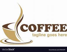 Cafe Logo Design Free Coffee Cafe Business Logo Royalty Free Vector Image