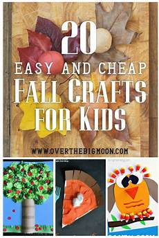 20 easy and cheap fall crafts the big moon