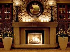 Decorate Fireplace Lighting Decorate Your Mantel For Winter Home Home Fireplace