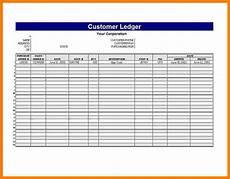 Monthly Ledger 6 Rent Ledger Excel Spreadsheet Ledger Review