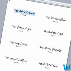 place card template on word make your own layered wedding place cards with glitter paper