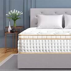 bedstory 12 inch hybrid mattress white gel infused