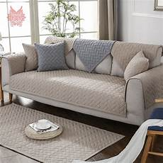 modern style blue grey khaki quilted sofa slipcovers