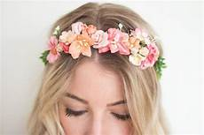 coral flower crown diy kit coral wedding headpiece coral
