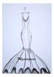 wedding dress drawing custom siren wedding dress by
