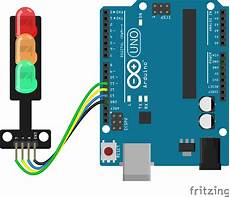 Traffic Light Program In Arduino Let S Workshop Traffic Light Module Flux Workshop