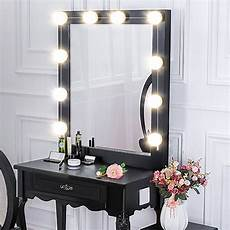 Makeup Vanity With Lights Makeup Mirror Led Lights 10 Hollywood Vanity Light Bulbs