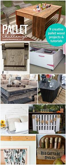 diy projects with pallets remodelaholic pallets aplenty 9 creative diy pallet