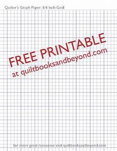 Free Printable Graph Paper 1 4 Inch Free Printable Resource Quilter S Graph Paper With 1 4