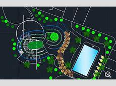Urban Restaurant Park 2D DWG Design Block for AutoCAD ? Designs CAD