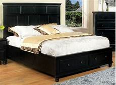willow creek black cal king platform storage bed from