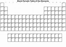 Periodic Table Template Handy Paper Templates Printable Templates For