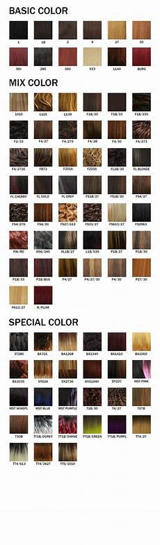 Boss Weave Color Chart Midway Boss Color Chart Nyhairmall