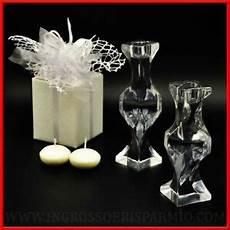 candele prezzi bomboniere matrimonio anniversario porta candele vetro