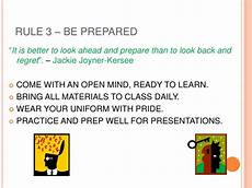Powerpoint Rules Powerpoint On Class Rules