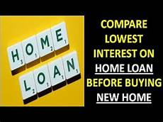 Compare Home Loan How To Compare Home Loan Interest Rates Youtube