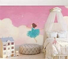 Princess Sofa 3d Image by Custom 3d Murals Pink Clouds Ballet Princess Room