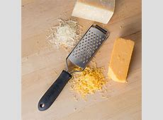 "13"" Cheese Grater with Rubber Handle and Medium Holes"
