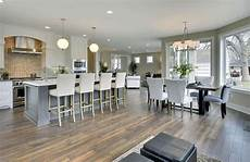 Living Kitchen Dining Open Floor Plan Best Kitchen Paint Colors Ultimate Design Guide