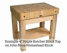 boos butcher block kitchen island boos maple end grain butcher block island top 2 25