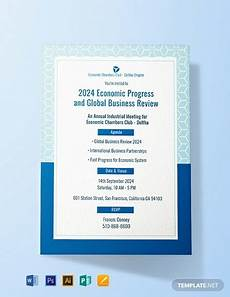 Invitation Software Free Download Free Meeting Invitation Template Word Psd Indesign