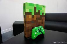 on with the minecraft xbox one s limited edition