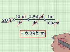 Feet And Meters Conversion Chart How To Convert Feet To Meters With Unit Converter Wikihow