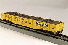 ttx railroad ho gondola with resin tie full load railgon ttx railway