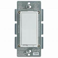 Ge Light Switch Smart Ge Z Wave Plus In Wall Smart Switch 14291 The Home Depot