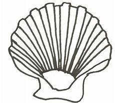 Muschel Ausmalbilder Malvorlagen Muschel Malvorlage Ausmalbild Muschel